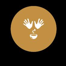 Ayurvedica-Teil-Massage